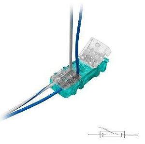 Conector Linear de Emenda 101-E com Gel Bargoa - Kit com 10 Unidades
