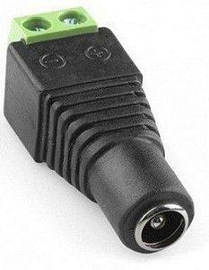 Conector P4 Fêmea com Borne - Pacote com 100 Unidades