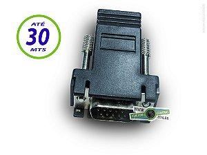 Extensor VGA até 30 Metros via Cabo de Rede Cat5e/6