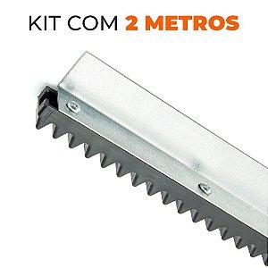 Kit Cremalheira Universal para Portões Dz - 2 metros