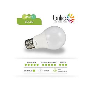 Lâmpada de Led Smart Bulbo Brilia A60 - 11w