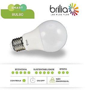 Lâmpada de Led Smart Bulbo Brilia A60 - 9w