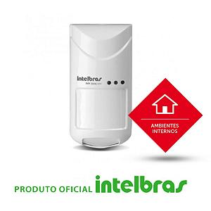 Sensor Infravermelho Passivo IVP com Fio Intelbras - 3000 Mw