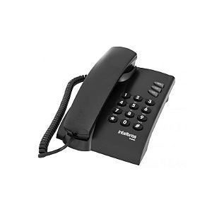 Telefone c/ Fio Intelbras Pleno Preto