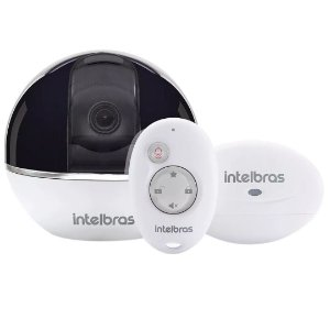 Câmera Intelbras Sem Fio IP Mibo IC7s Full HD 360º c/ Alarme Integrado (2.0MP | 1080p | Metal)