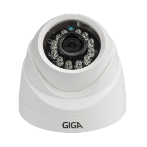 Câmera Giga GS0019 Dome Open HD Orion IR 20M UTC DWDR (1.0MP | 720p | 2.6mm | Plast)