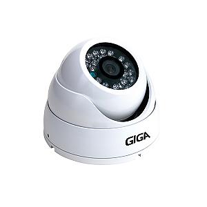 Câmera Giga GS0028 Dome Open HD Sony Exmor IR 30M UTC DWDR IP66 (2.0MP | 1080p | 3.6mm | Plast)