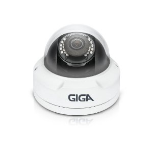 CÂMERA GIGA GS0119 IP PRIME DOME 4MP ULTRA WDR IR 30M IP66 (4.0MP |  1440P | 2.8mm | METAL )
