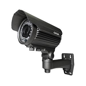 Câmera Giga GS0276 Bullet Varifocal Open HD Orion IR 50M UTC IP66 (2.0MP | 1080p | 2.8~12mm | Metal)