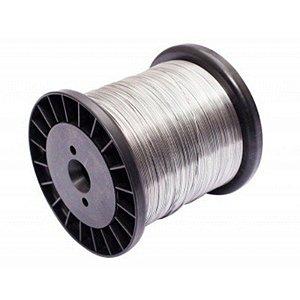 Fio de Aço Inox para Cerca Industrial 1,20mm - 110 Metros