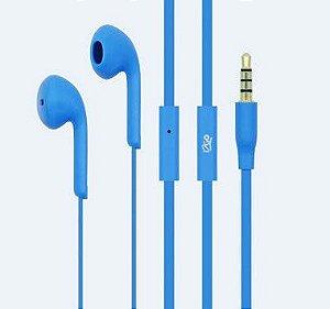 Fone de ouvido i2GO Intra-Auricular com microfone 1,2m 103db