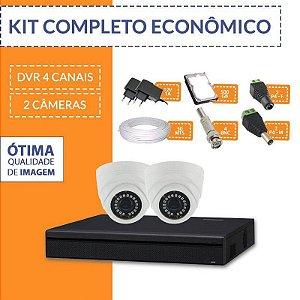 Kit Econômico Completo com 2 Câmeras Internas