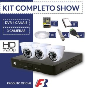 Kit Fbr Focusbras Completo em Alta Definição- 3 câmeras internas HD