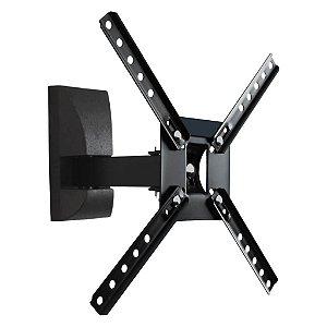 Suporte para TV articulado Brasforma - SBRP130 (LED, LCD, Plasma, 3D, Smart de 10 a 55 Polegadas)