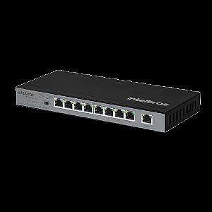 Switch Intelbras 9 Portas Fast c/ 8 PoE SF 900 PoE