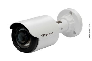 CÂMERA TECVOZ BULLET FLEX HD 4X1 CB128P (1.0MP | 720P | 2.8MM | PLAST)