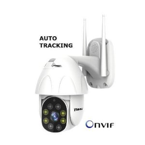 Mini Speed Dome IP TWG Auto-Tracking Full HD (2.0MP | 1080p | Wi-Fi | IP66 | Plást)