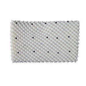 Travesseiro Magnético Firme - 0,40 X 0,40 X 0,12 m