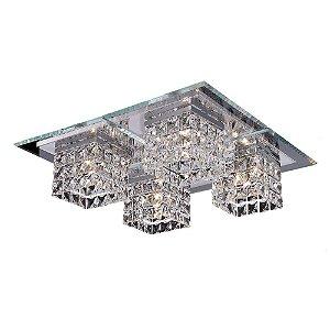 Plafon Cristal Quadrado 40 cm x 40 cm