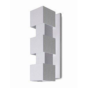 Arandela Alumínio Retangular 31x12 Efeitos
