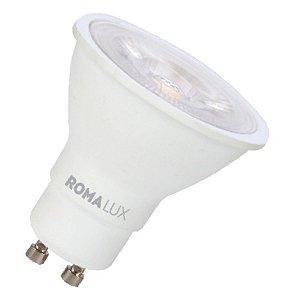 Lâmpada LED Dicróica MR16 PAR16 GU10 3W Bivolt 2700K Branco Quente Romalux