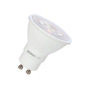 Lâmpada LED Dicróica 4,8W 2700K Branco Quente GU10 Bivolt