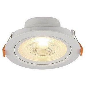 Spot LED Embutir 6 W Bivolt Redondo 6500K Branco Frio