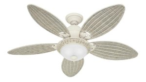 Ventilador de Teto 127 V Branco Caribbean Breeze Hunter