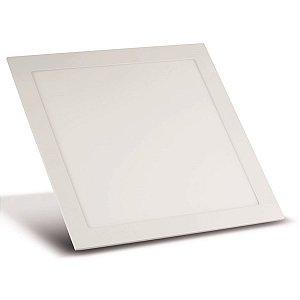 Luminária Painel Plafon LED Embutir Sala Cozinha  25W Luz Branco Frio Bivolt