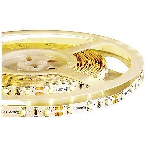 Fita LED para Embutir Sanca Gesso Espelho Móveis 4,8W/M Luz Amarela 12V IP20 5m