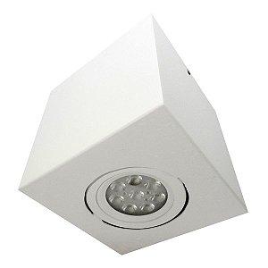 Spot Plafon Sobrepor AR70 GU10 Alumínio Branco Florence
