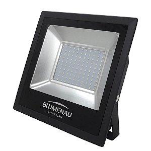 Refletor LED 100W Bivolt 6000K Branco Frio IP65 Blumenau