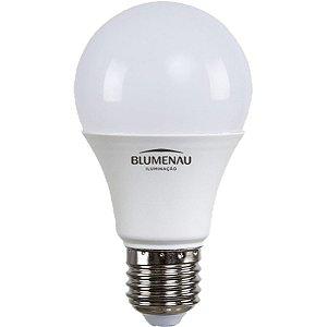 Lâmpada LED Bulbo A60 9W Bivolt 6500K Branco Frio Blumenau
