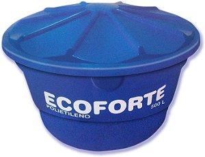 Caixa D'agua ECOFORTE 500L tampa comum / 1000 Litros