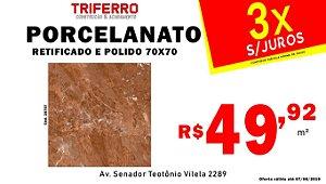 Porcelanato Andrus 70x70 Polido e retificado