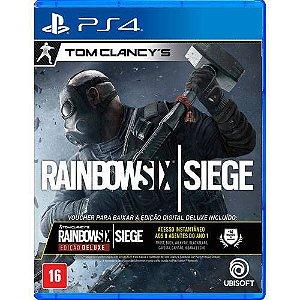 Rainbow Six Siege Edição Deluxe - Ps4