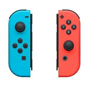 Nintendo Switch Joy-Con L/R Azul E Vermelho