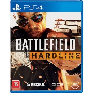 Battlefield Hardline Semi Novo - Ps4