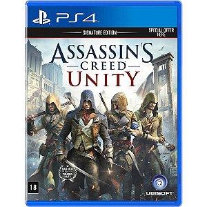 Assassin's Creed Unity Semi Novo - Ps4