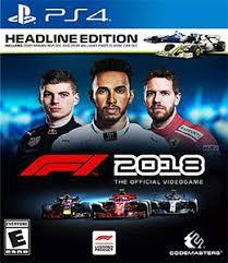 F1 2018 Semi Novo - Ps4