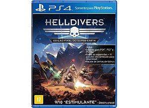 Hell Divers Semi Novo - Ps4
