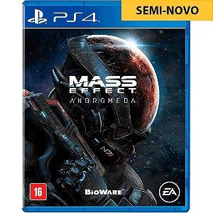 Mass Effect Semi Novo - Ps4