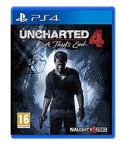 Uncharted a Thiefs End 4 Semi Novo - Ps4