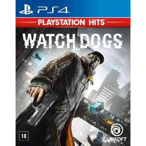 Watch Dogs Semi Novo - Ps4