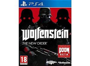 Wolfenstein The New Order Semi Novo - Ps4