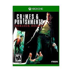 Crimes e Punshments Semi Novo - Xbox One