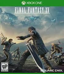 Final Fantasy XV Semi Novo - xbox one