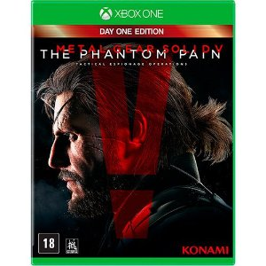 Metal Gear Solidy V Semi Novo - Xbox One
