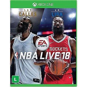 NBA Live 18 Semi Novo - Xbox One