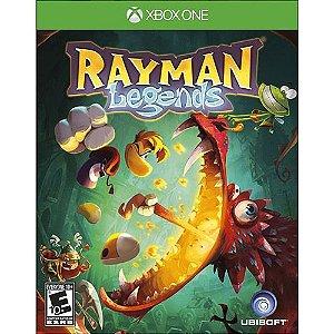 Rayman Lgends Semi Novo - X Box